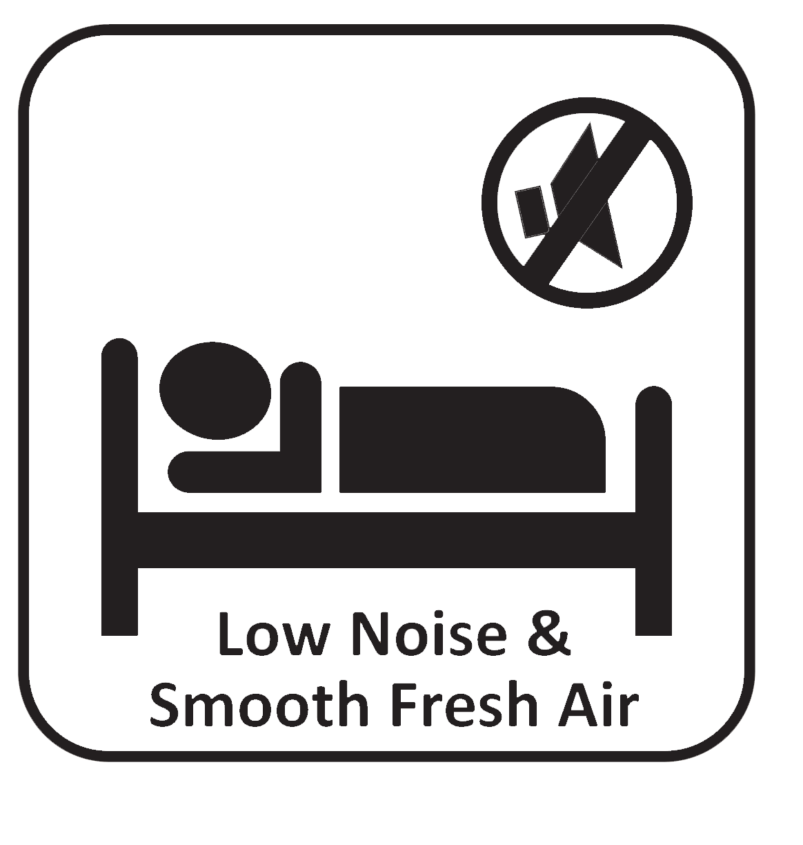Low noise icon