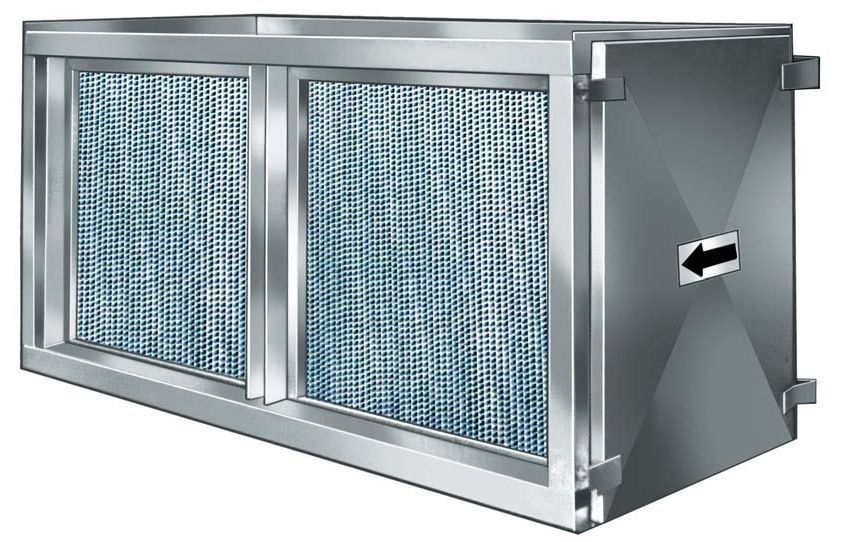 Esaplling high efficiency particulate air