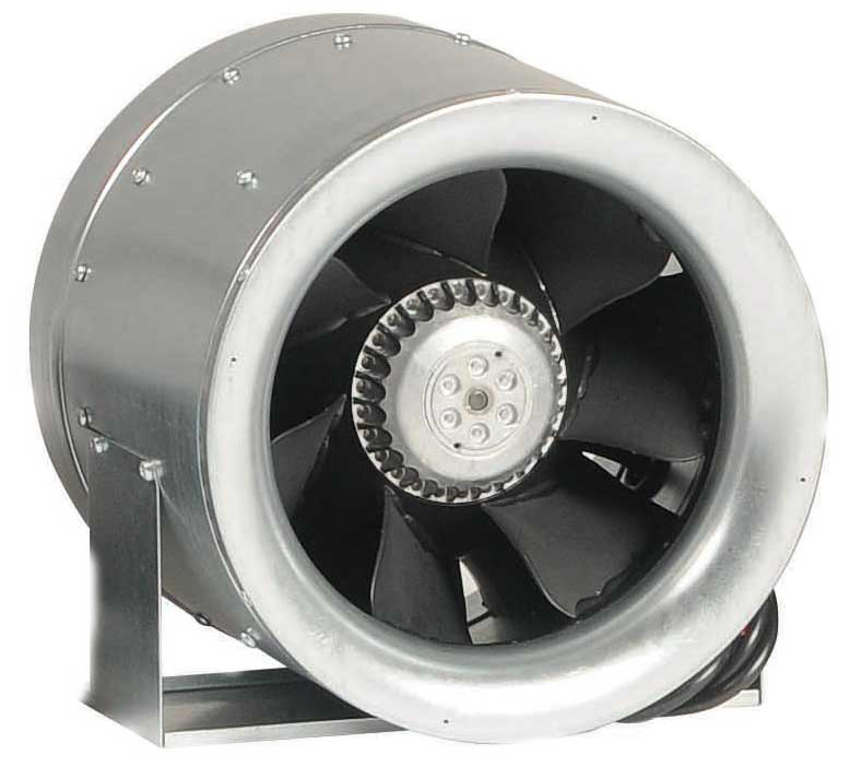 Esaplling noise axial fan